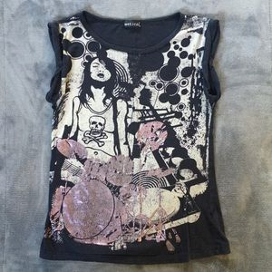 Graphic tee by Wet Seal